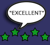 excellent customer reviews for photo booth hire